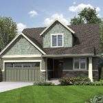 Compact Northwest Home Plan Architectural