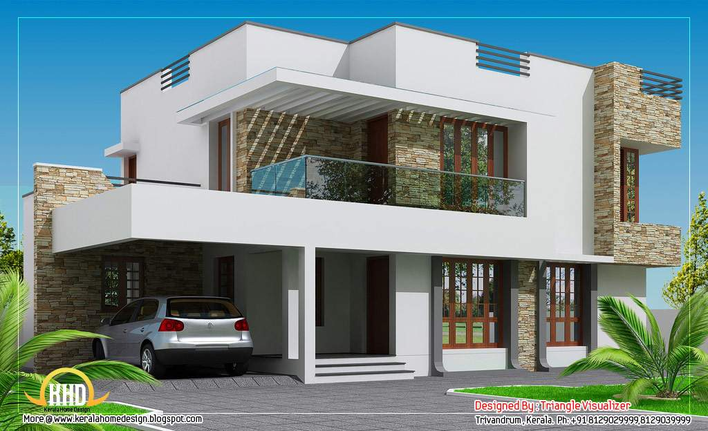 Contemporary Home Design Indian House Plans