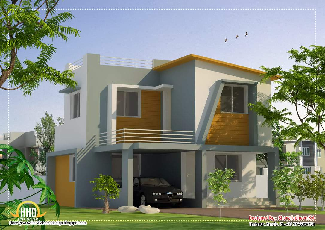Contemporary House Design Square