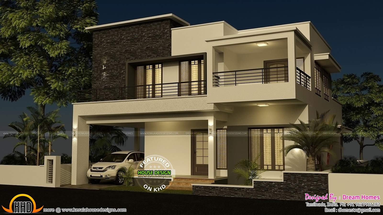 Contemporary House Elevations Homes Floor Plans
