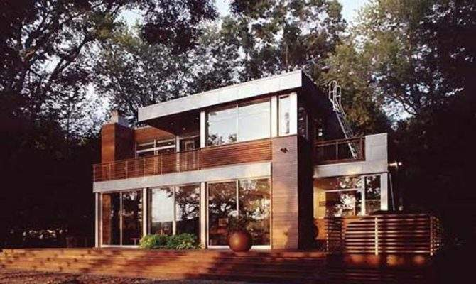 Contemporary Lake House Plans
