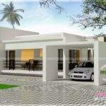 Contemporary Single Storied Luxury Home Indian House Plans