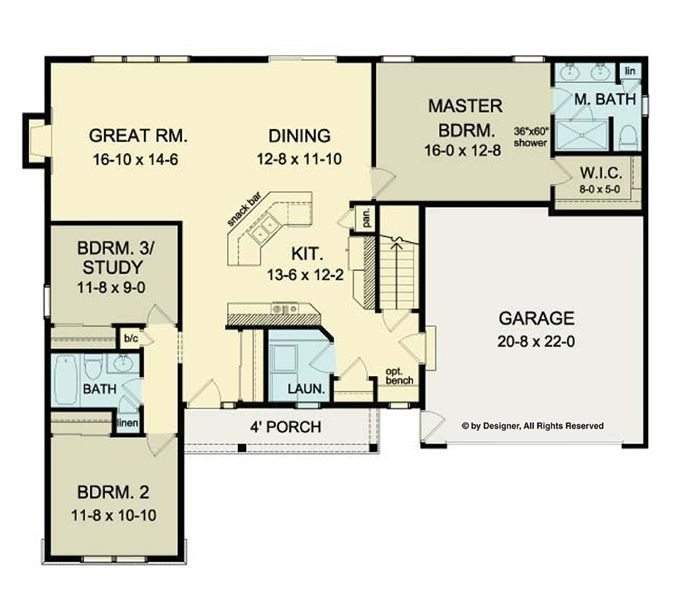Cool Open Floor Plans Ranch Homes New Home Design
