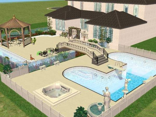 Cool Sims House Designs Best