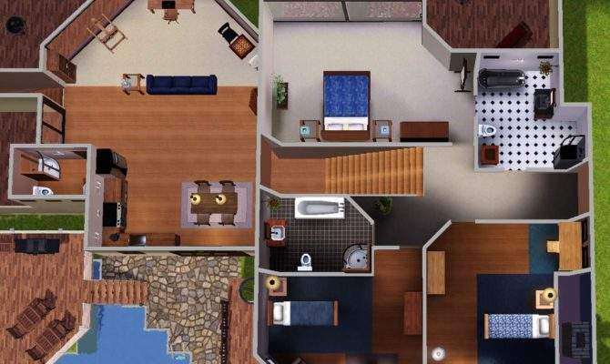 Cool Sims Houses Mod Esims Sunset Cliffs
