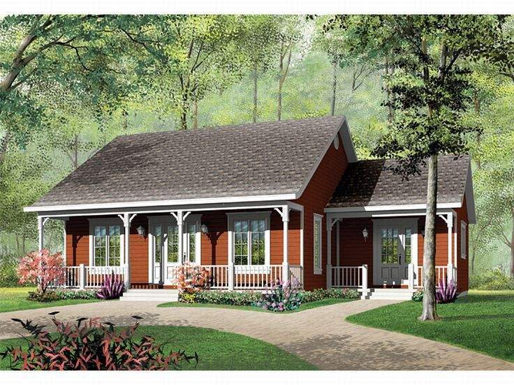 Cottage House Plan Cute Girl Can Dream She