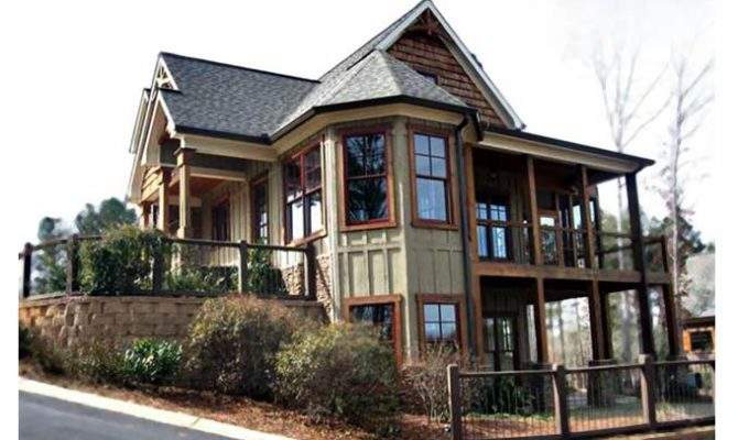 Cottage Style House Plan Screened Porch Max Fulbright