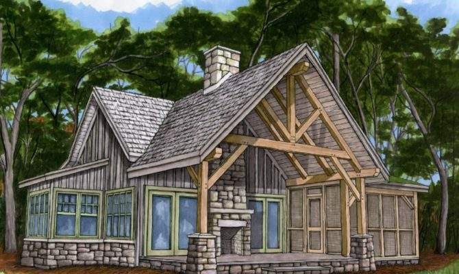 Cottage Style House Plans Screened Porch Designs