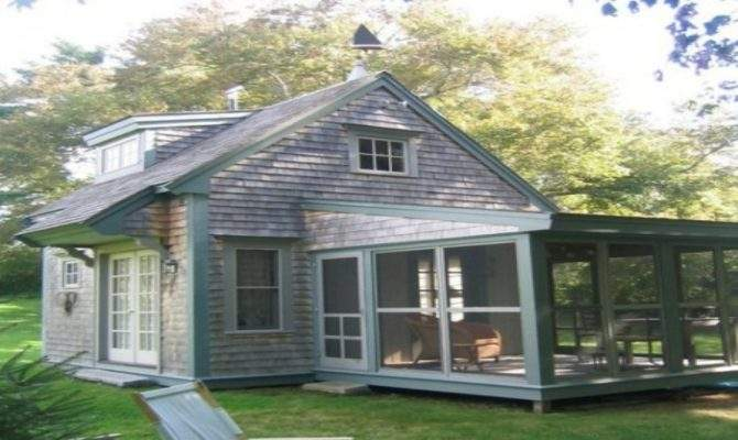 Cottage Style House Plans Screened Porch Railings