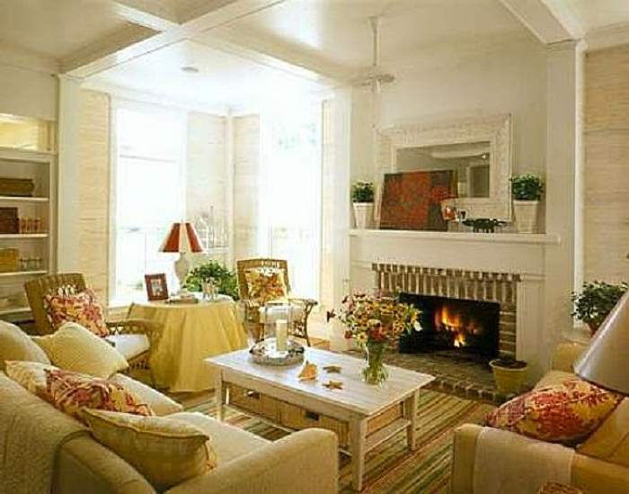 Country Cottage Style Living Rooms
