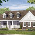Country French Farmhouse Elevations Joy Studio Design Best