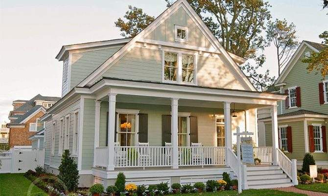 Country Home Plans Narrow House Plan
