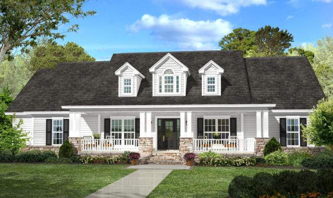 Country House Plan Bedrm Home