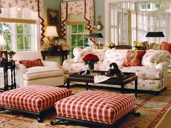 Country Style Living Room Furniture Sets