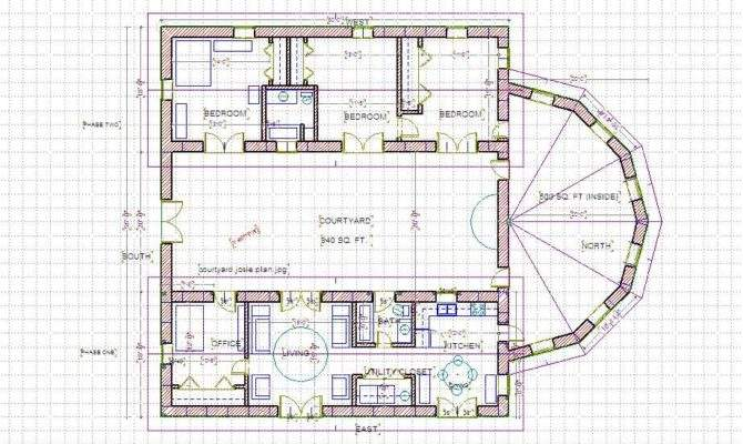 Courtyard Home Plans Nation Top Plan Designers