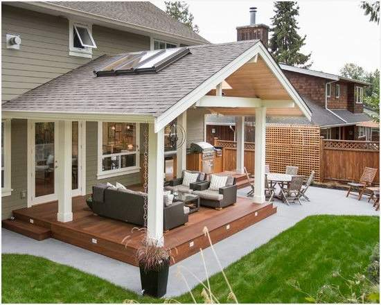 Covered Decks Patios Melissal Gill