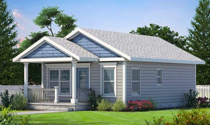 Cozy Bed Tiny House Plan Architectural