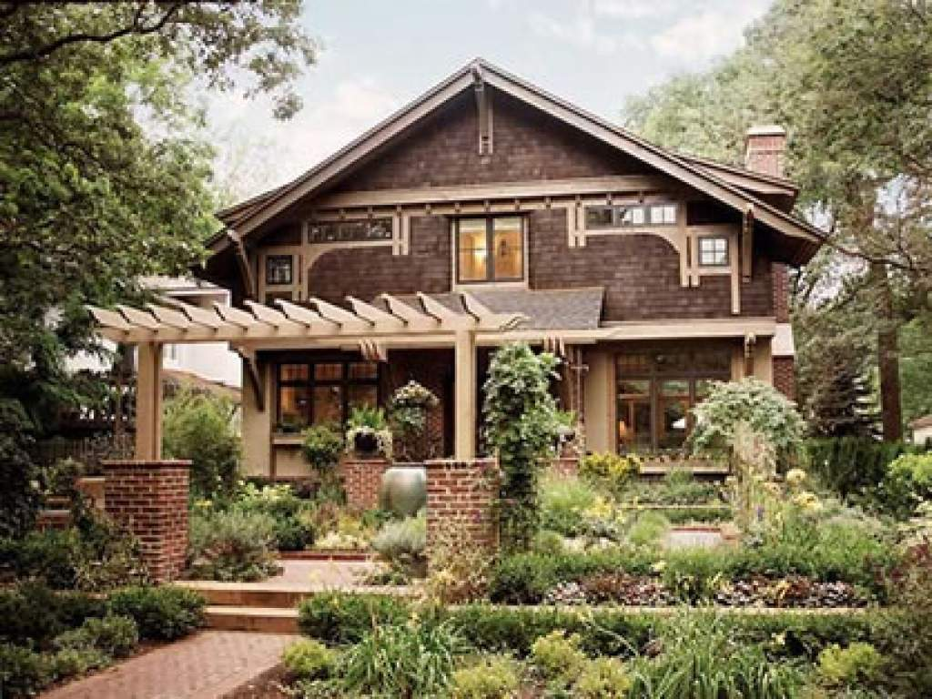 Craftsman Bungalow Arts Crafts House Plans