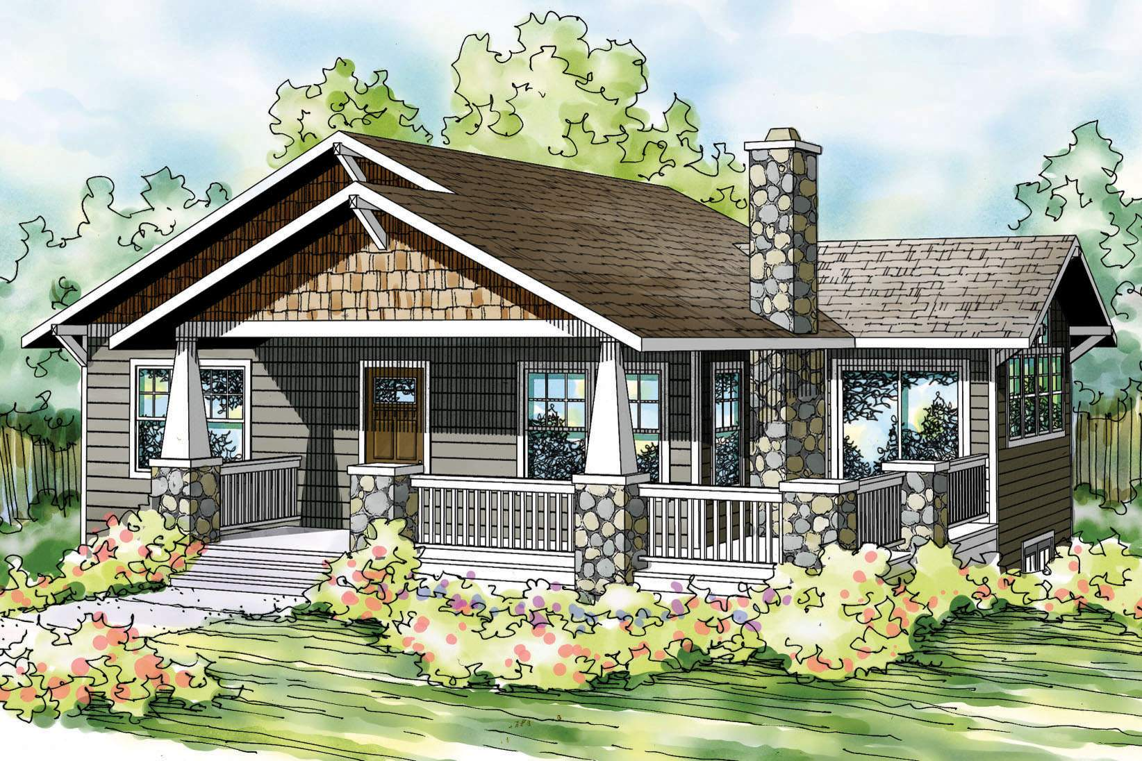 Craftsman Bungalow House Styles