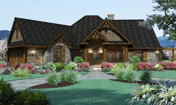 Craftsman Cottage Style House Plans Simple Earth