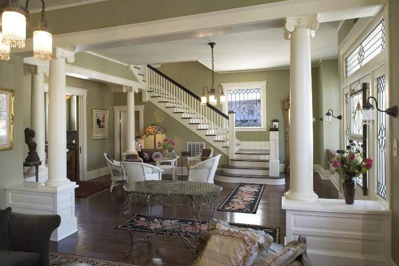 Craftsman Staircase Pinterest Style