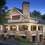 Craftsman Style Architecture Home Wrap