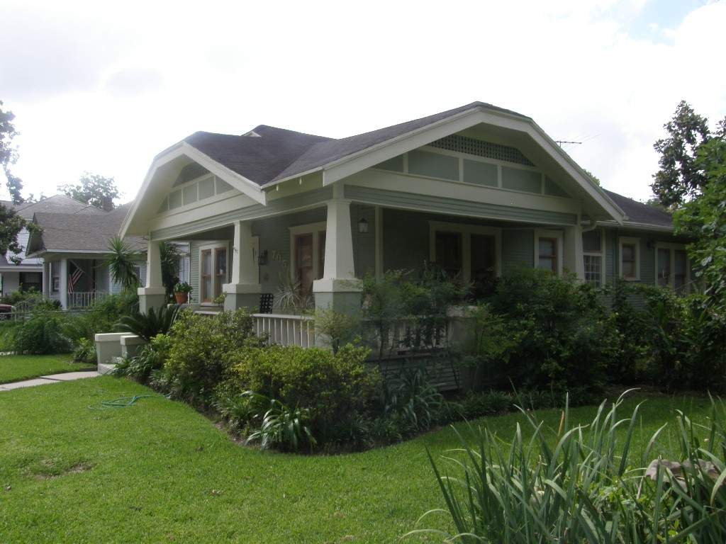 Craftsman Style Bungalow Woodland Heights