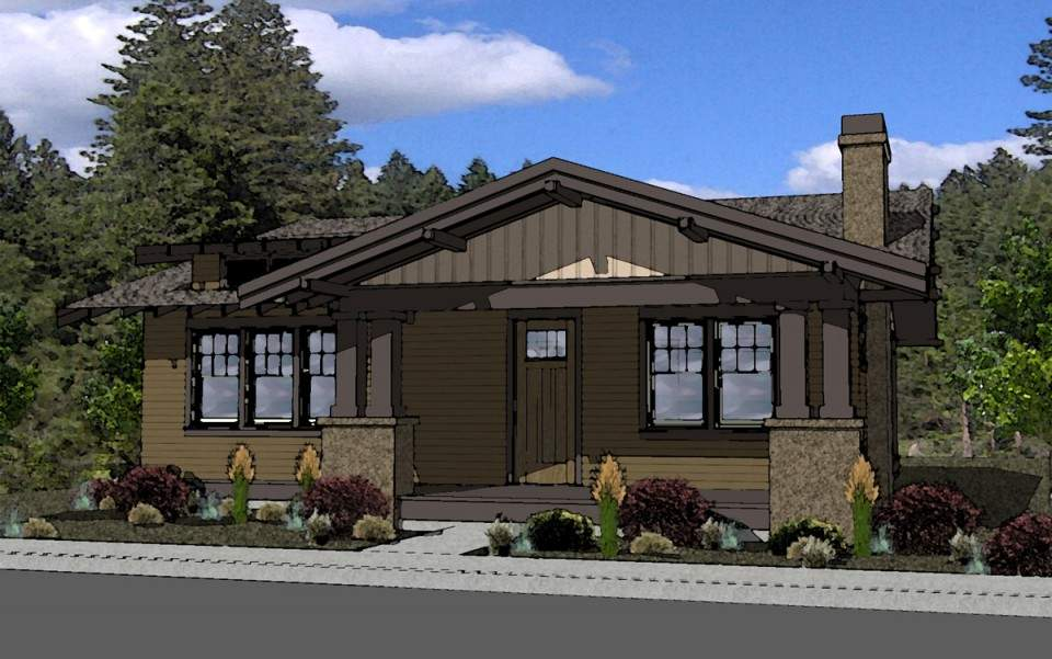 Craftsman Style House Plan Northwest Crossing Boards Plans