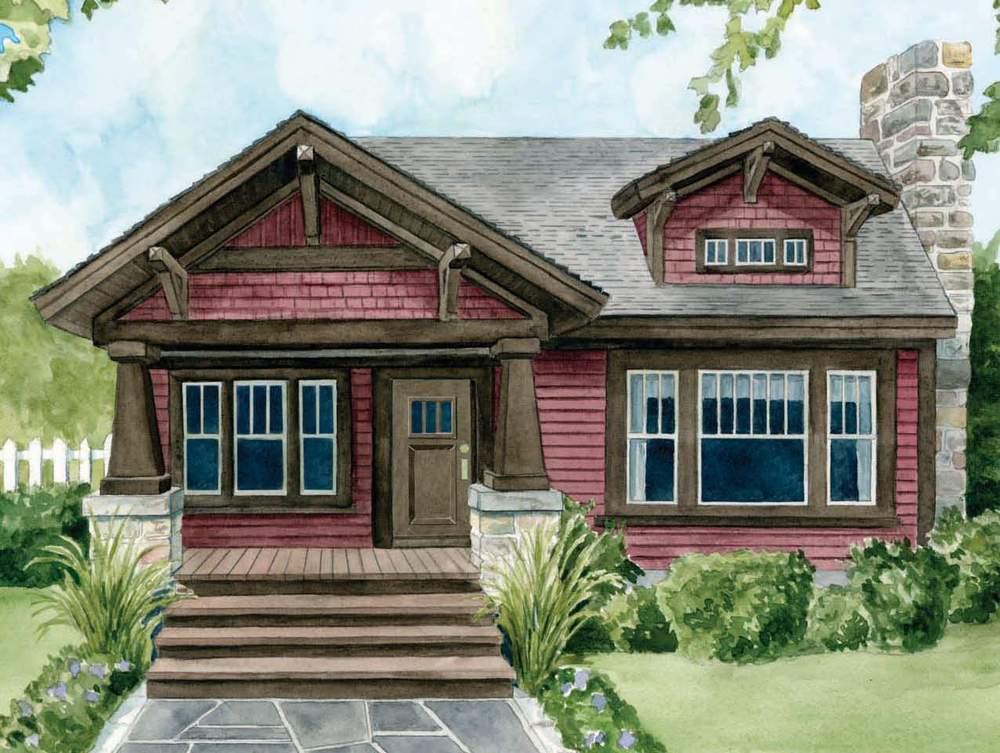 Craftsman Style Houses House Design