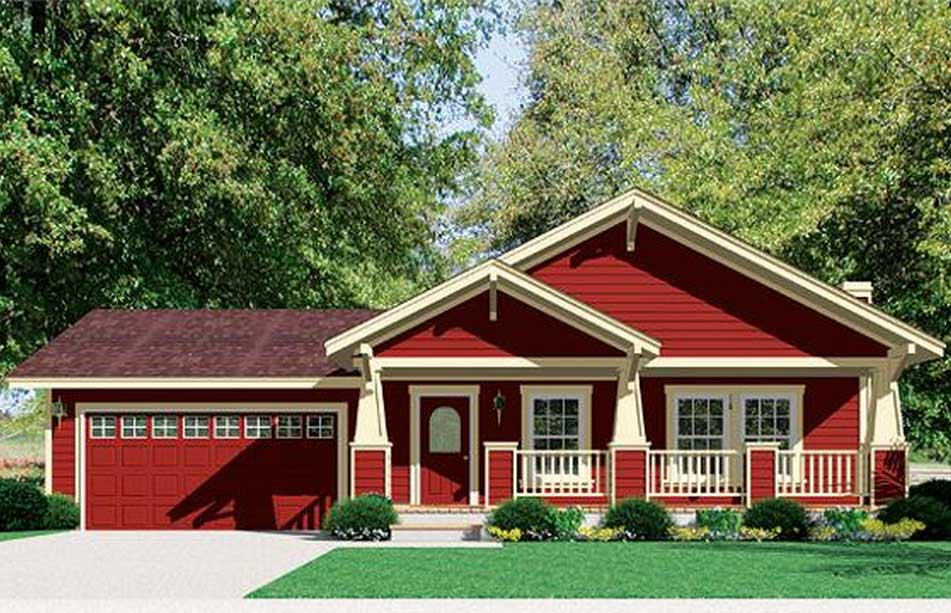Craftsman Style Houses Ranch House