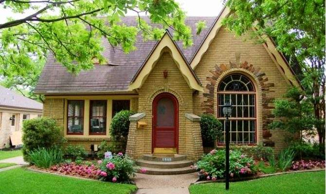 Cute Home Storybook Style Cottage House Decorators
