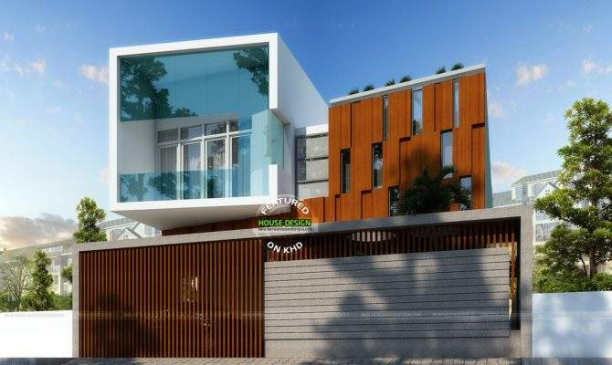 Cute Ultra Modern House Architecture Kerala Home Design