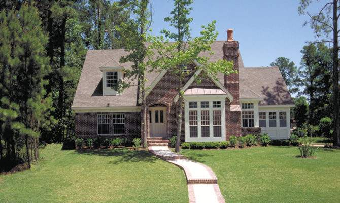 Darbytown English Cottage Home Plan House