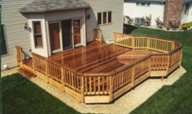 Deck Extension Building Plans Only