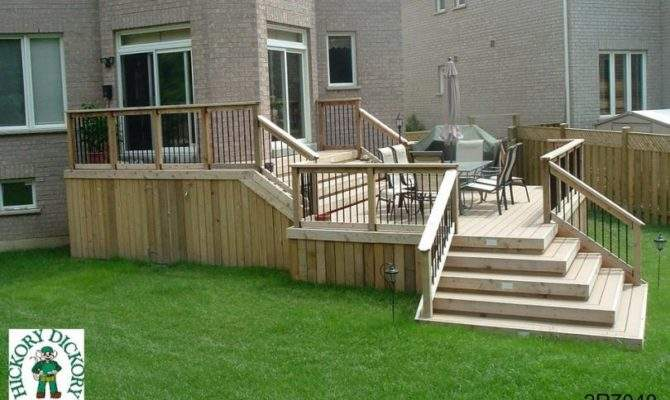 Deck Plan Very Large Two Level