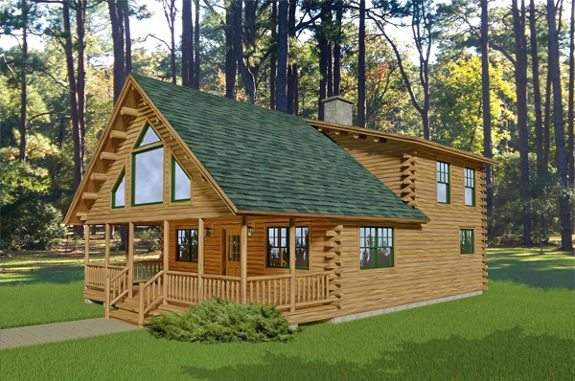 Denali Katahdin Cedar Log Homes Floor Plans