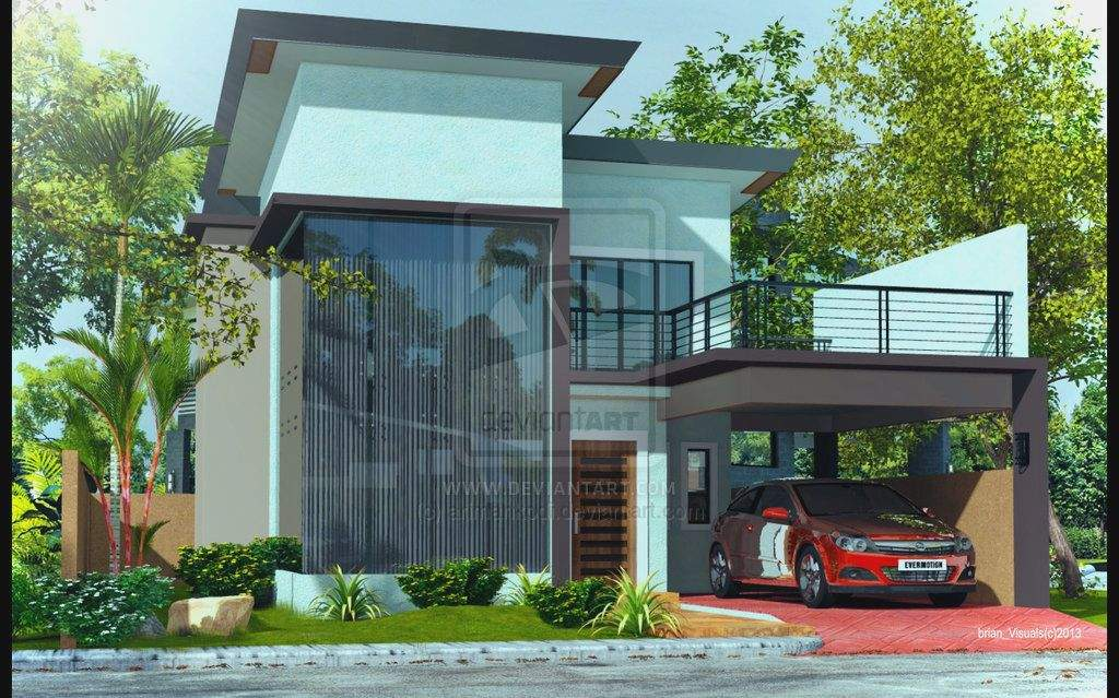 Design Construction Storey Modern House Designs