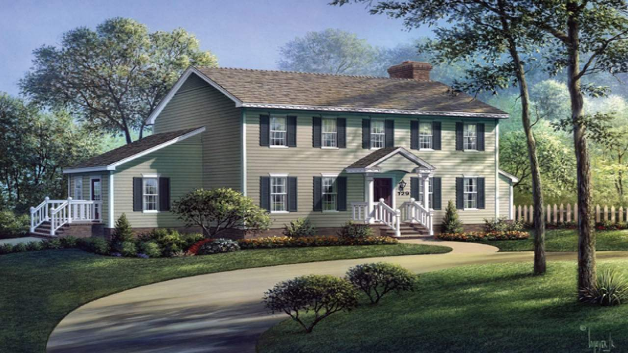 Designer Laundry Rooms New England Colonial House Plans