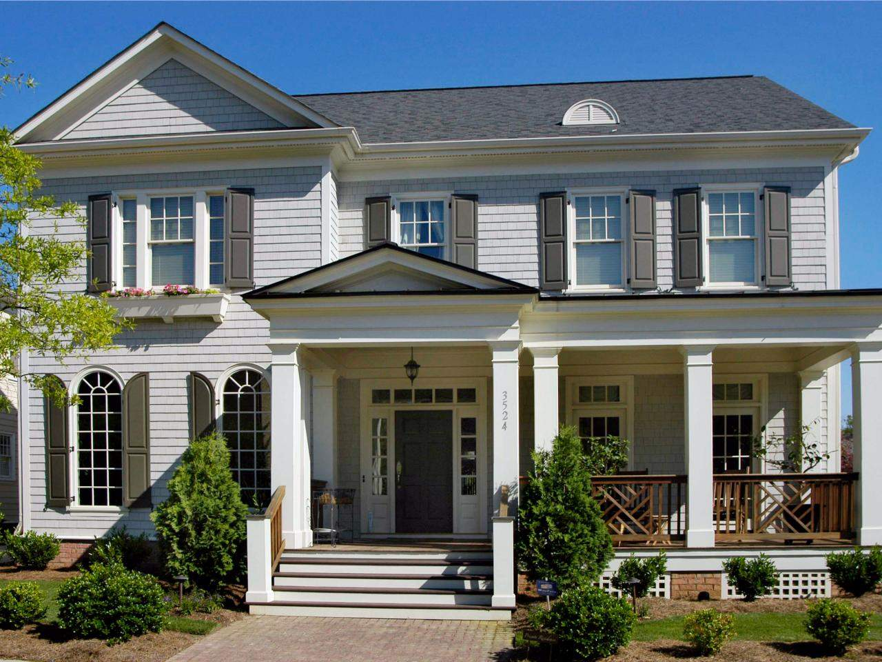 Designlens Gray Two Story House Rend Hgtvcom Jpeg