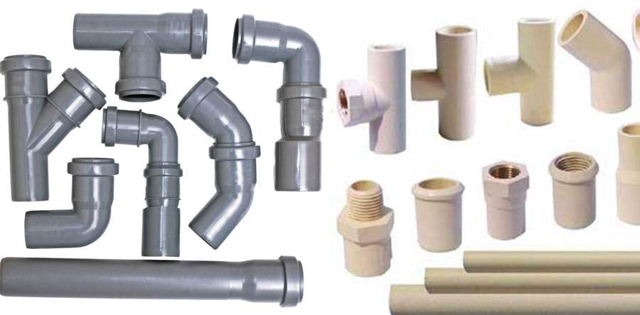 Different Types Plumbing Pipes Call