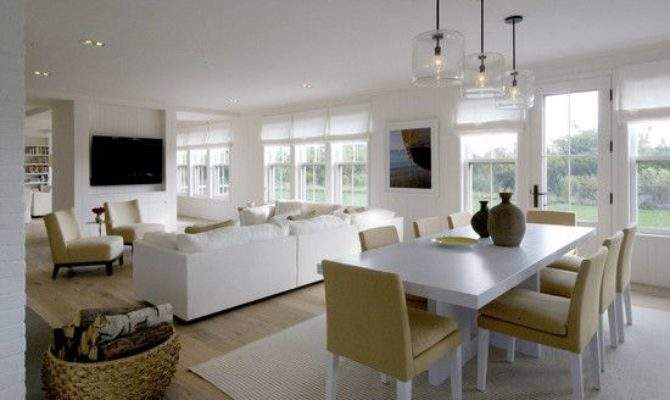 Dining Room Small Open Plan Kitchen Living Design