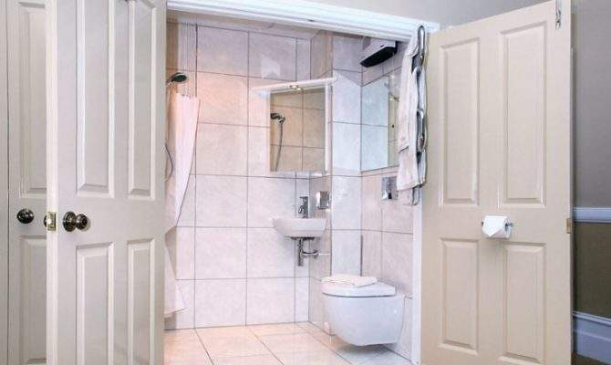 Disappearing Shower Curtain Small Bathrooms