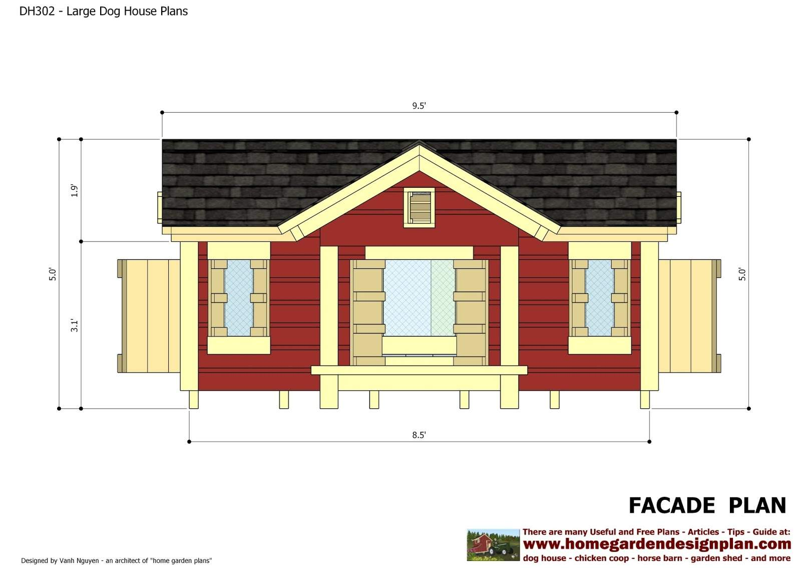 Dog House Plans Design Insulated