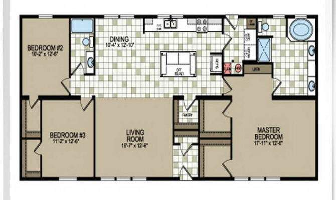 Double Wide Mobile Home Floor Plans Modern