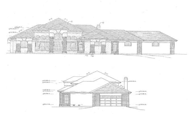 Drawing Potential Attached Garage