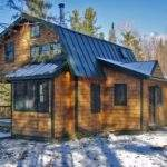 Dumpy Old House Transformed Into Ski Cabin Vermont