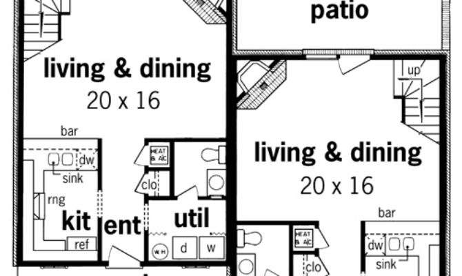 Duplex Plans Narrow Lots Search Results