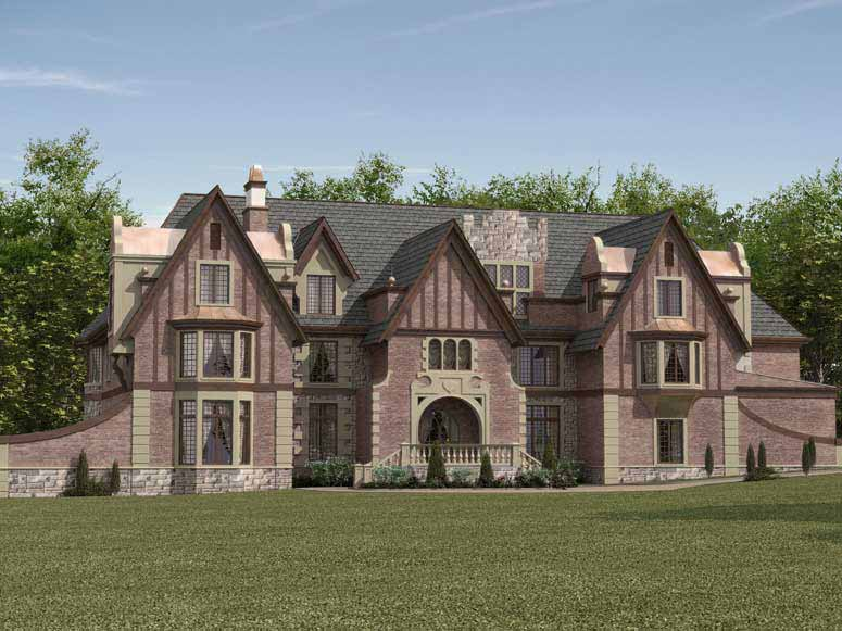 Dysart Castle House Plan Plans Styles