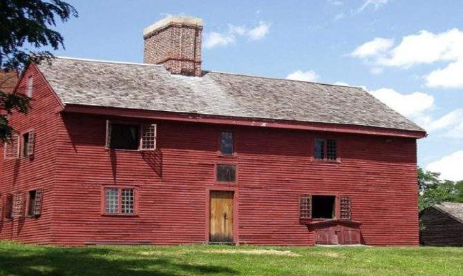 Early New England Homes Colonial