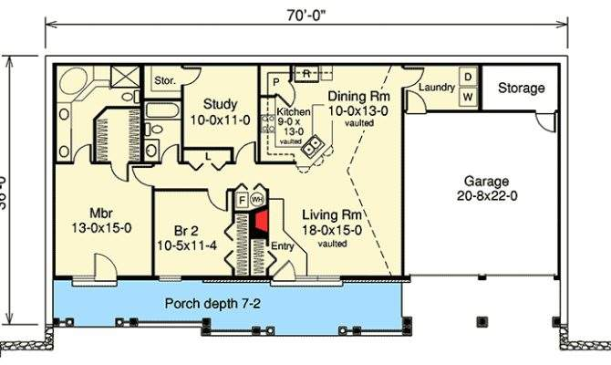 Earth Berm Home Plan Style Architectural